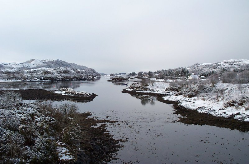 Snow Scenes on Seil 2005