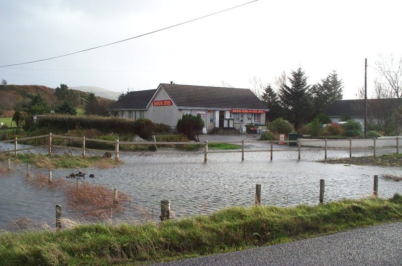 Rising tide at Balvicar Stores