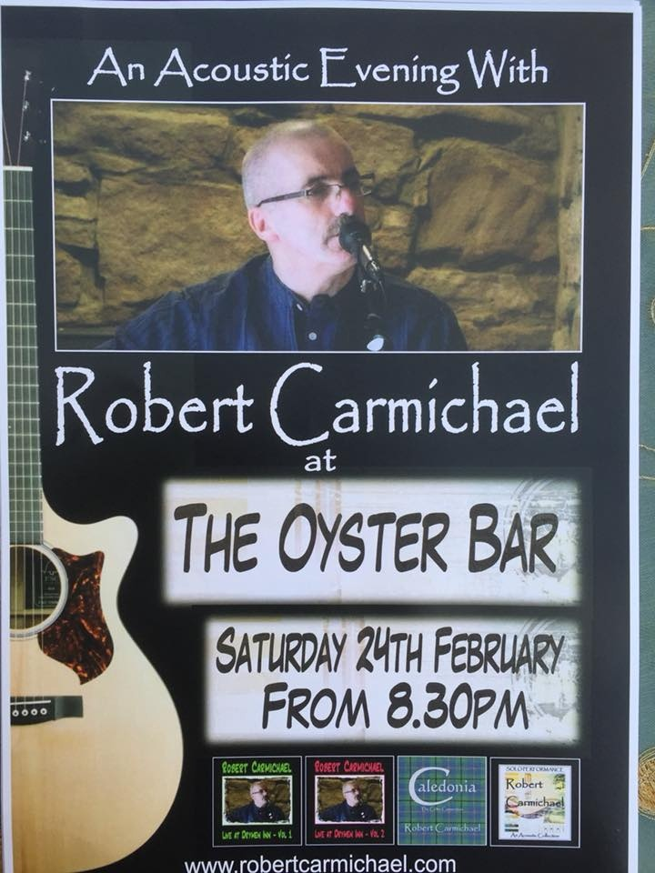 Accoustic evening, Oyster Bar 24th Feb