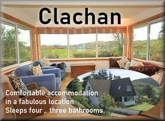 Clachan self catering cottage Isle of Seil