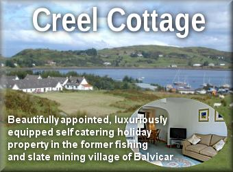 Creel Cottage self catering holiday cottage in Balvicar
