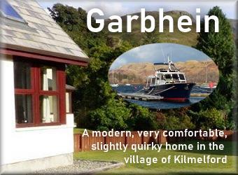 Garbhein self catering Kilmelfort