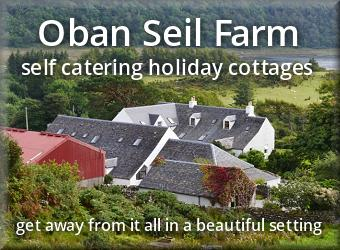 Oban Seil Farm Holiday Cottages