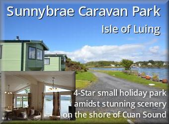 Sunnybrae Holiday park, Isle of Luing